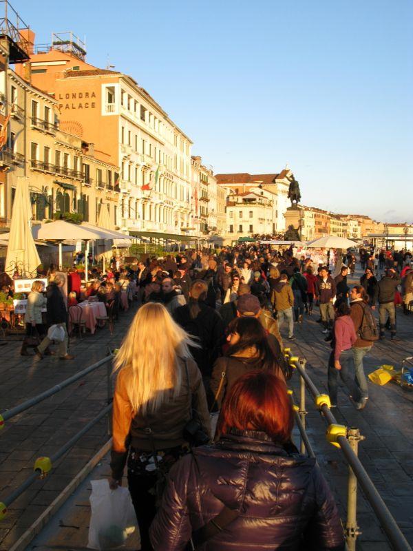 Venice Crush of People