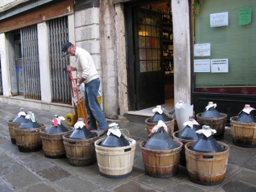 Venice Jugs of Wine
