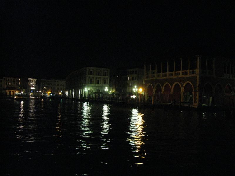 Nighttime Venice Fish Maket