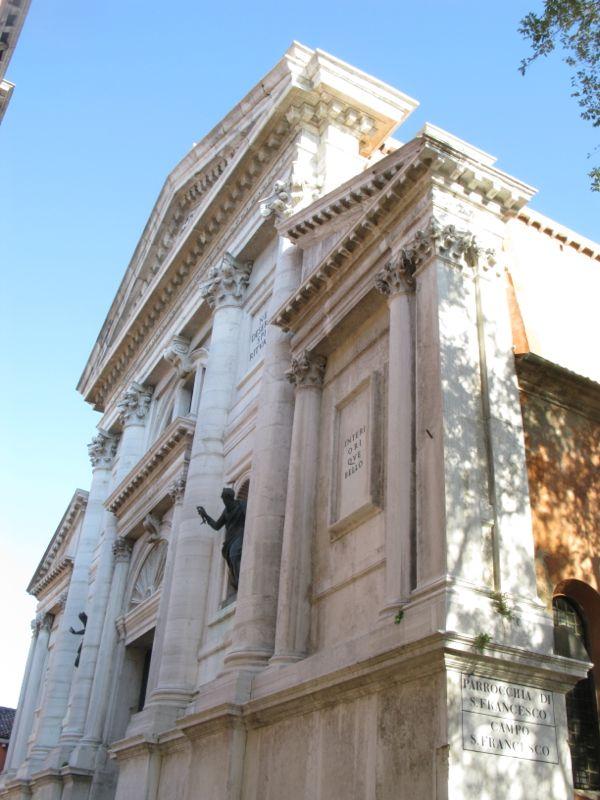 San Francesco della Vigna facade
