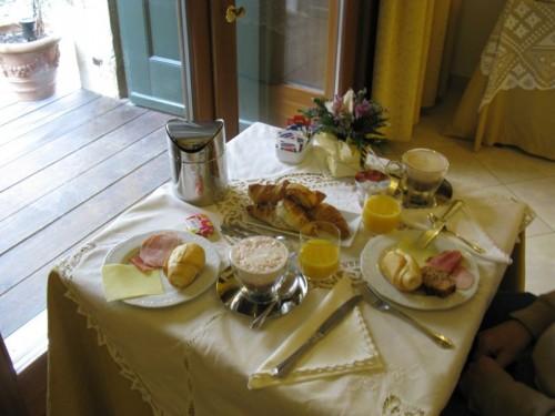 Venice breakfast