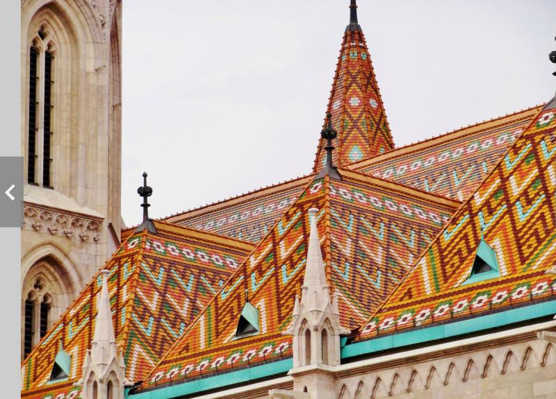 St. Matthias tiles