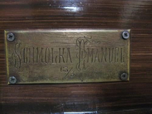 Synagogue nameplate Budapest