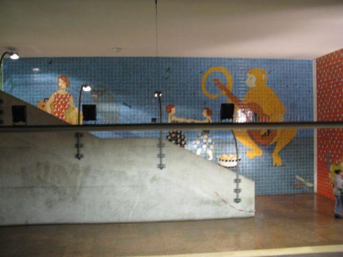 Lisbon Metro_Alvalade_overview