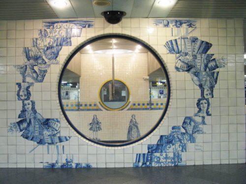 Lisbon Metro_CampoGrande_9